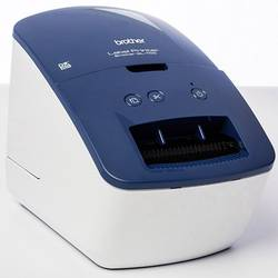 Brother QL-600B Tiskanje etiket Neposredna toplotna 300 x 600 dpi Širina etikete (maks.): 62 mm USB