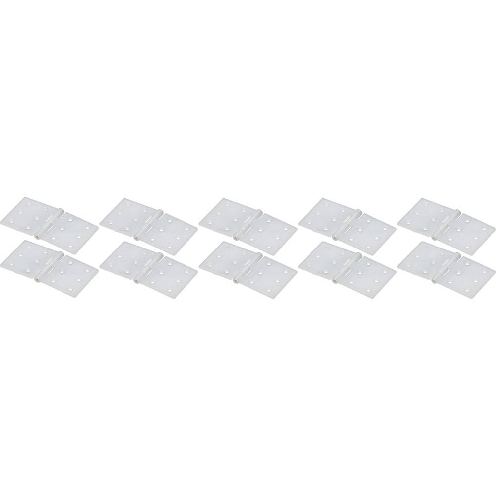 Šarnir Pravokotni Poliamid EXTRON Modellbau (D x Š) 20 mm x 36 mm 10 KOS