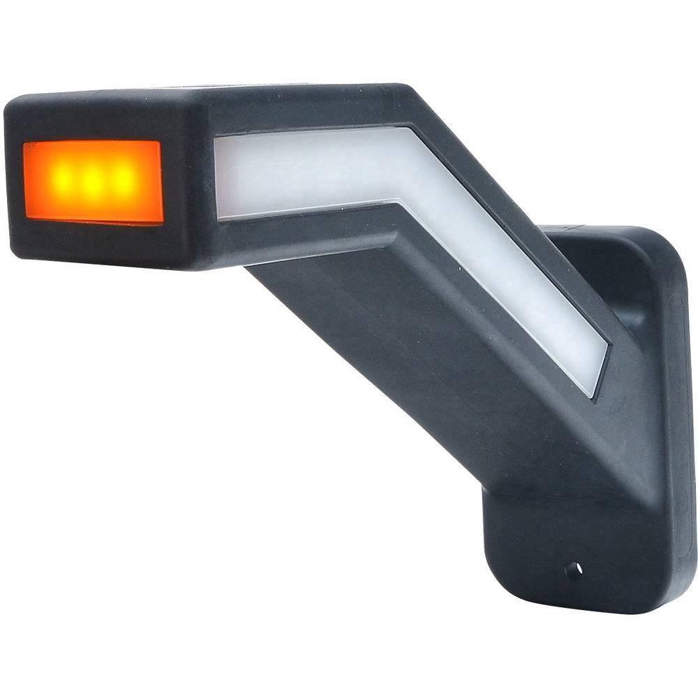 WAS stranska označevalna luč odprti konec kabla smerni kazalec, odsevnik, pozicijska luč ob strani, na desni 12 V, 24 V rdeča, b