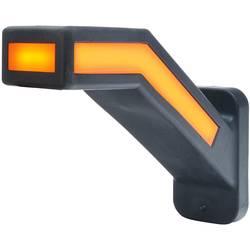 WAS stranska označevalna luč odprti konec kabla smerni kazalec, odsevnik, pozicijska luč ob strani, na levi 12 V, 24 V rdeča, be