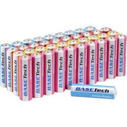 Basetech mignon (aa)-baterija alkalno-manganov 2900 mAh 1.5 V 40 kos