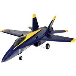 Amewi F18 Jet Blue Angel modra, rumena RC reaktivni model PNP 686 mm