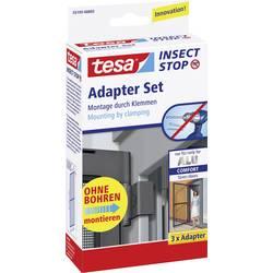 komplet adapterjev mreže za žuželke tesa Adapter Alu Comfort 55193-03 Primerno za blagovno znamko Tesa tesa komarnik 3 KOS
