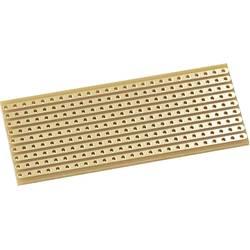 Kemo E015 eksperimentalna ploča flash-pozlaćen tvrdi papir (D x Š) 64 mm x 25 mm 35 µm Raster 2.54 mm Sadržaj 1 St.