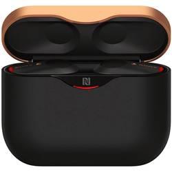 true wireless in ear slušalice Sony WF-1000XM3 u ušima slušalice s mikrofonom, kontrola glasnoće, poništavanje buke, kontrola na