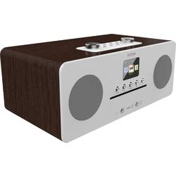 Internet Stolni radio Denver MIR-260 AUX, Bluetooth, CD, DAB+, NFC, UKW Drvo (tamno)