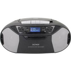DAB+ (1012) CD radio Denver TDC-250 AUX, CD, Kaseta, UKW, USB Crna