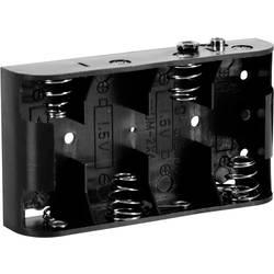 Velleman BH243B Nosilec baterij 4xBaby (C) Hitrosklopni priključek (D x Š x V) 106 x 59 x 22 mm