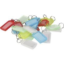 obesek za ključe Perel big bela, rdeča, modra, zelena, rumena 20 kos