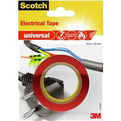 3M universal 4401RED Izolirni trak Scotch® Rdeča (D x Š) 10 m x 15 mm 10 m