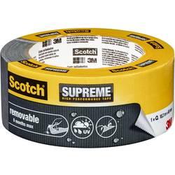 3M Scotch SUPREME 41031848 lepilni trak iz tkanine scotch® siva (D x Š) 18.2 m x 48 mm 18.2 m