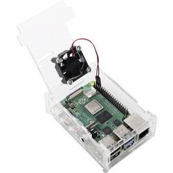 MAKERFACTORY sbc kućište Pogodno za: Raspberry Pi uklj. aktivni hladnjak prozirna