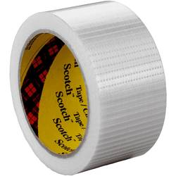 3M 89592550 filamentni lepilni trak scotch® transparentna (D x Š) 50 m x 25 mm 50 m