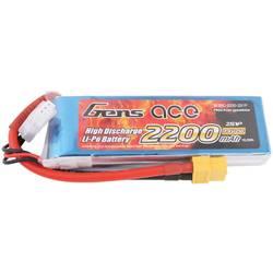 Gens ace LiPo akumulatorski paket za modele 7.4 V 2200 mAh Število celic: 2 25 C Mehka torba XT60
