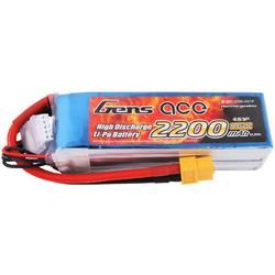 Gens ace LiPo akumulatorski paket za modele 14.8 V 2200 mAh Število celic: 4 25 C Mehka torba XT60