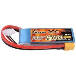 Gens ace LiPo akumulatorski paket za modele 7.4 V 1800 mAh Število celic: 2 40 C XT60