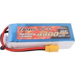 Gens ace LiPo akumulatorski paket za modele 22.2 V 4400 mAh Število celic: 6 35 C XT90