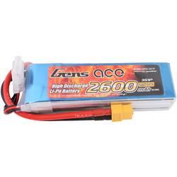 Gens ace LiPo akumulatorski paket za modele 11.1 V 2600 mAh Število celic: 3 25 C Mehka torba XT60