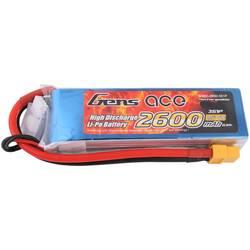 Gens ace LiPo akumulatorski paket za modele 11.1 V 2600 mAh Število celic: 3 60 C XT60