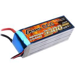 Gens ace LiPo akumulatorski paket za modele 22.2 V 3300 mAh Število celic: 6 25 C XT90