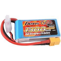 Gens ace LiPo akumulatorski paket za modele 7.4 V 1300 mAh Število celic: 2 25 C Mehka torba XT60