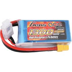 Gens ace LiPo akumulatorski paket za modele 11.1 V 1300 mAh Število celic: 3 25 C Mehka torba XT60