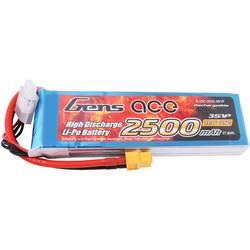 Gens ace LiPo akumulatorski paket za modele 11.1 V 2500 mAh Število celic: 3 25 C XT60