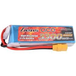 Gens ace LiPo akumulatorski paket za modele 14.8 V 3300 mAh Število celic: 3 40 C XT90