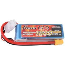 Gens ace LiPo akumulatorski paket za modele 11.1 V 1800 mAh Število celic: 3 40 C Mehka torba XT60