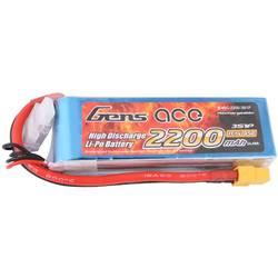 Gens ace LiPo akumulatorski paket za modele 11.1 V 2200 mAh Število celic: 3 45 C XT60