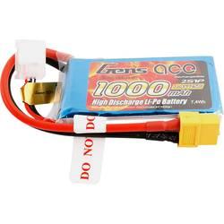 Gens ace LiPo akumulatorski paket za modele 7.4 V 1000 mAh Število celic: 2 25 C Mehka torba XT60