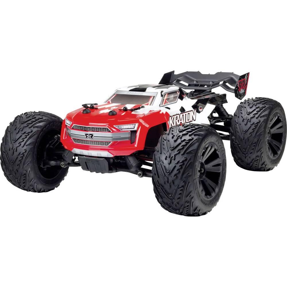 Arrma Kraton BLX brez ščetk 1:10 RC Modeli avtomobilov Elektro Monster Truck Pogon na vsa kolesa (4WD) RtR 2,4 GHz