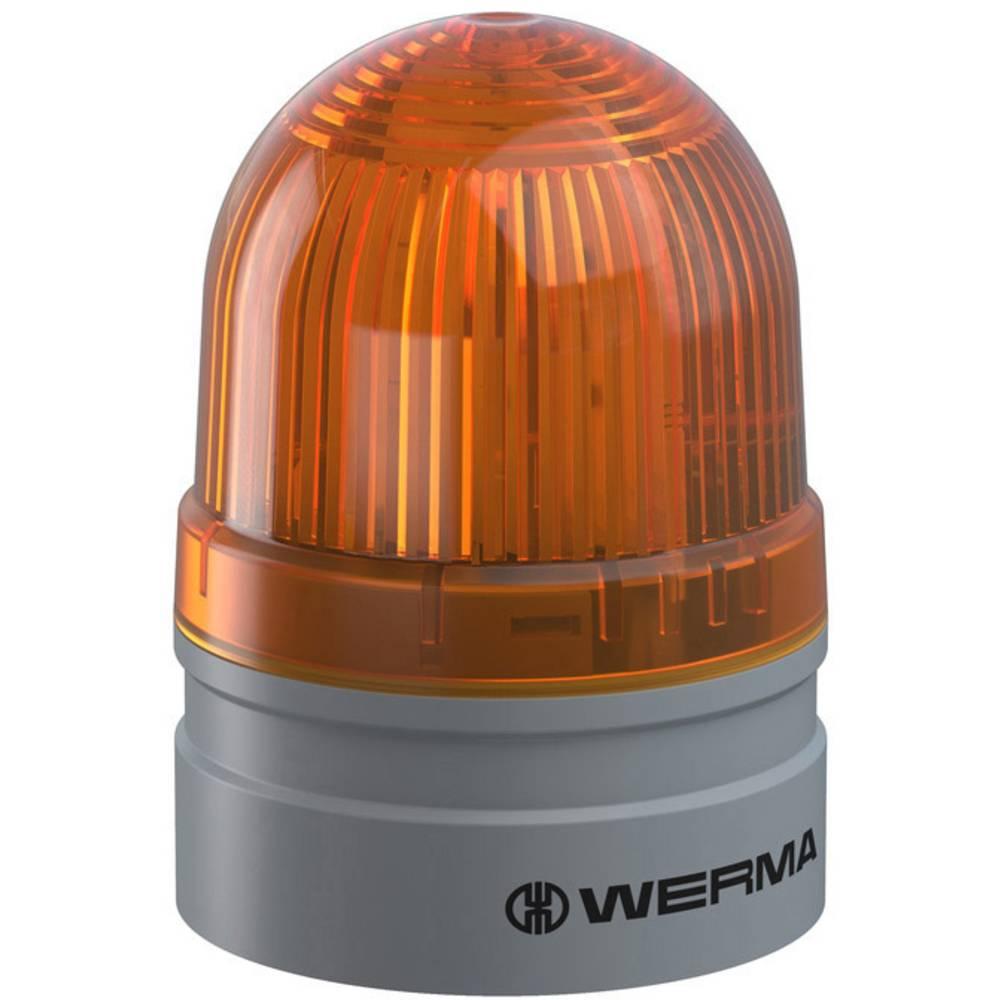 Werma Signaltechnik signalna svjetiljka Mini TwinLIGHT 12VAC/DC YE žuta 12 V/DC