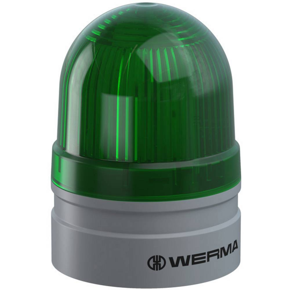 Werma Signaltechnik signalna svjetiljka Mini TwinLIGHT 24VAC/DC GN zelena 24 V/DC