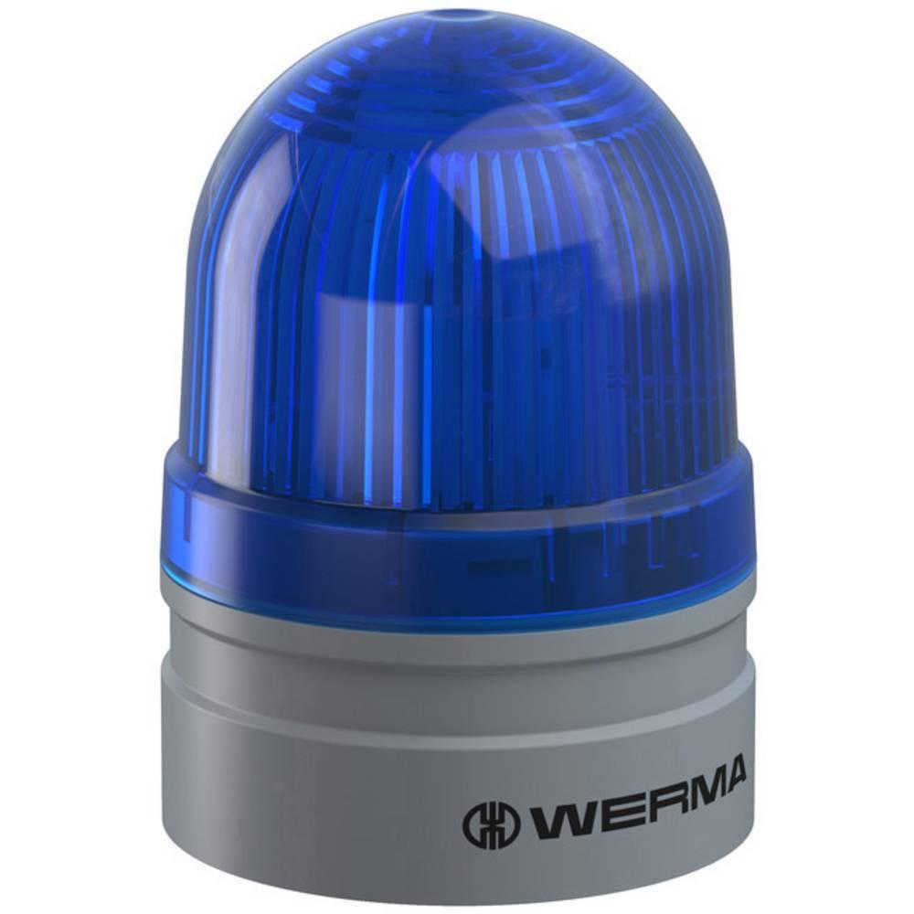 Werma Signaltechnik signalna svjetiljka Mini TwinLIGHT 24VAC/DC BU plava boja 24 V/DC