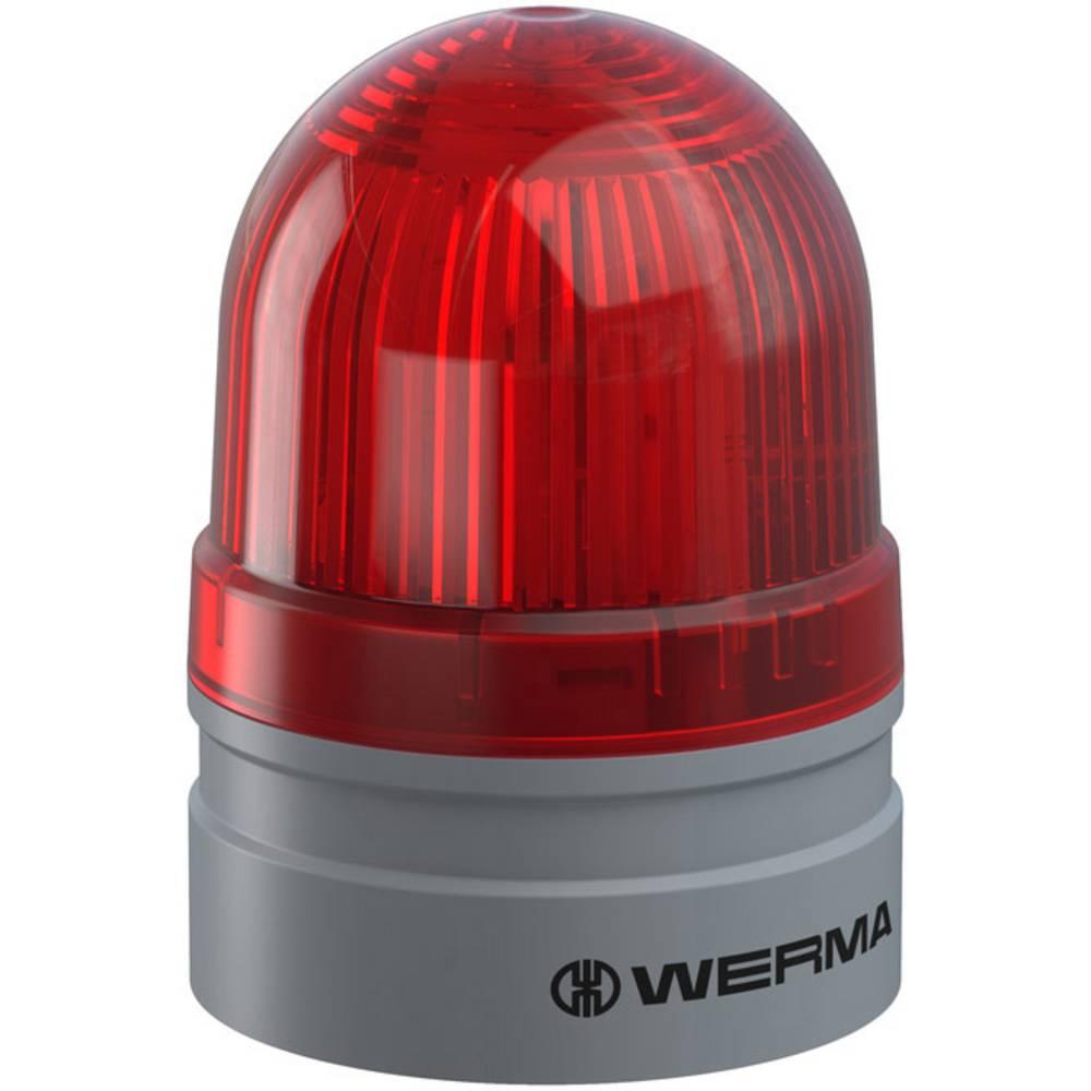 Werma Signaltechnik signalna svjetiljka Mini TwinLIGHT 115-230VAC RD crvena 230 V/AC