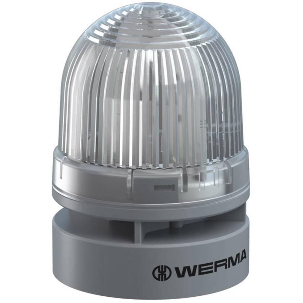 Werma Signaltechnik signalna svjetiljka Mini TwinLIGHT Combi 12VAC/DC CL bistra 12 V/DC 95 dB