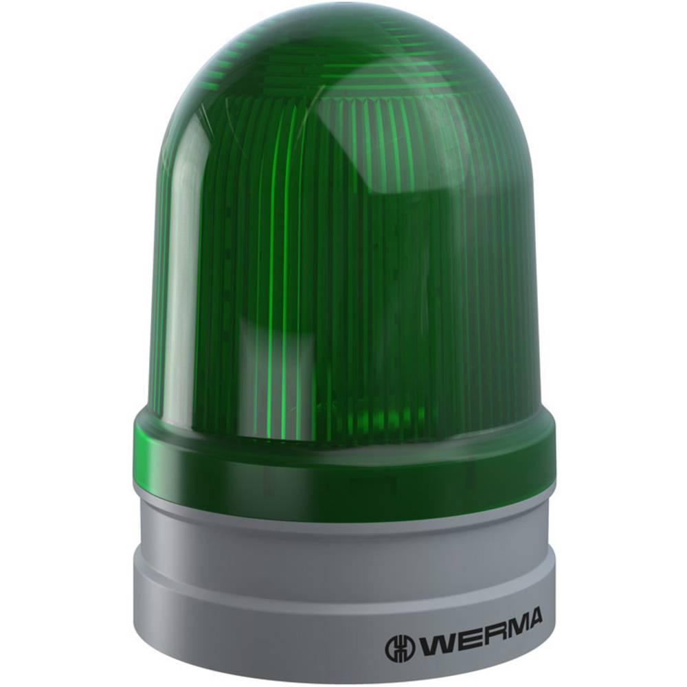 Werma Signaltechnik signalna svjetiljka Maxi TwinLIGHT 12/24VAC/DC GN zelena 24 V/DC