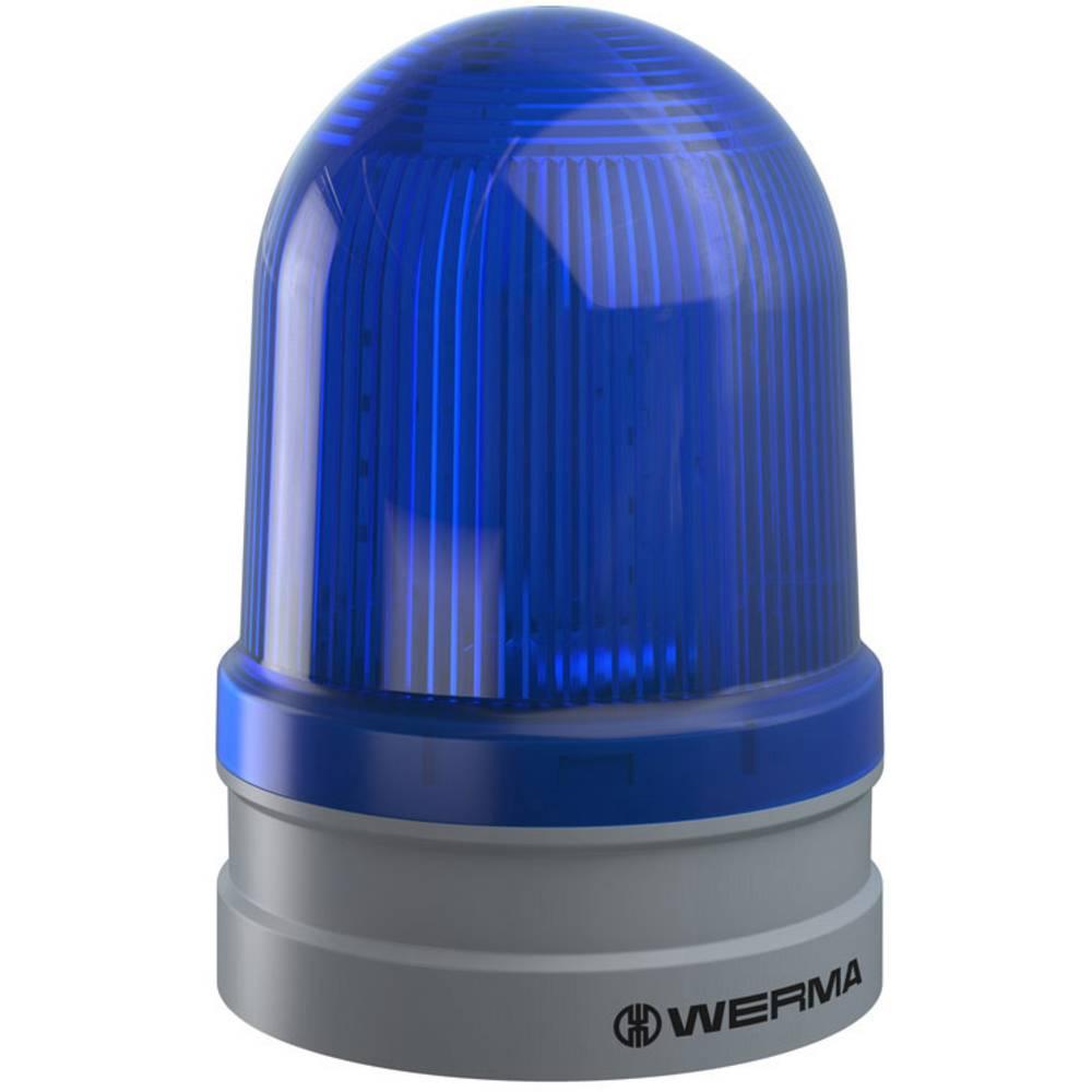 Werma Signaltechnik signalna svjetiljka Maxi TwinFLASH 12/24VAC/DC BU plava boja 24 V/DC