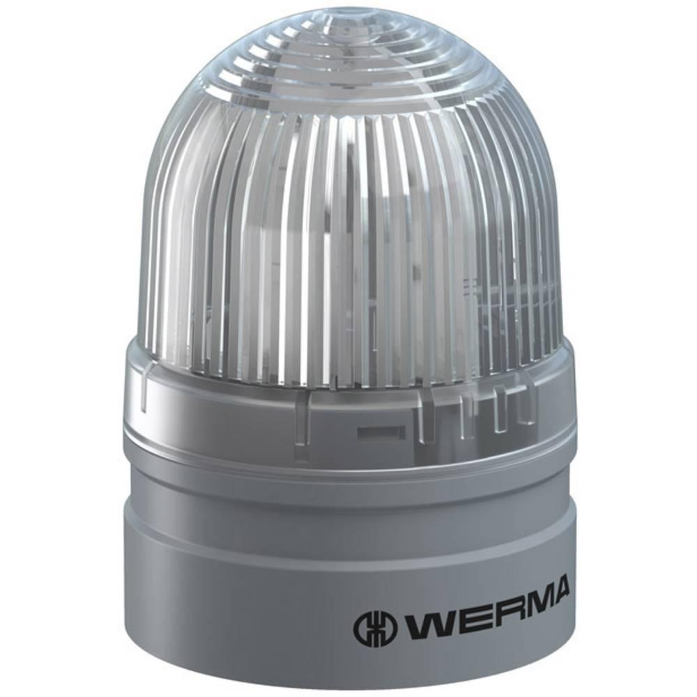 Werma Signaltechnik signalna svjetiljka Mini TwinFLASH 115-230VAC CL bistra 230 V/AC