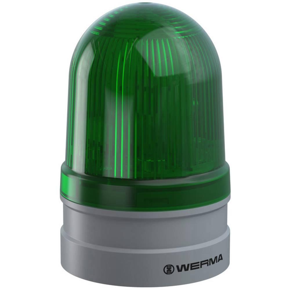Werma Signaltechnik signalna svjetiljka Midi TwinLIGHT 12/24VAC/DC GN zelena 12 V/DC