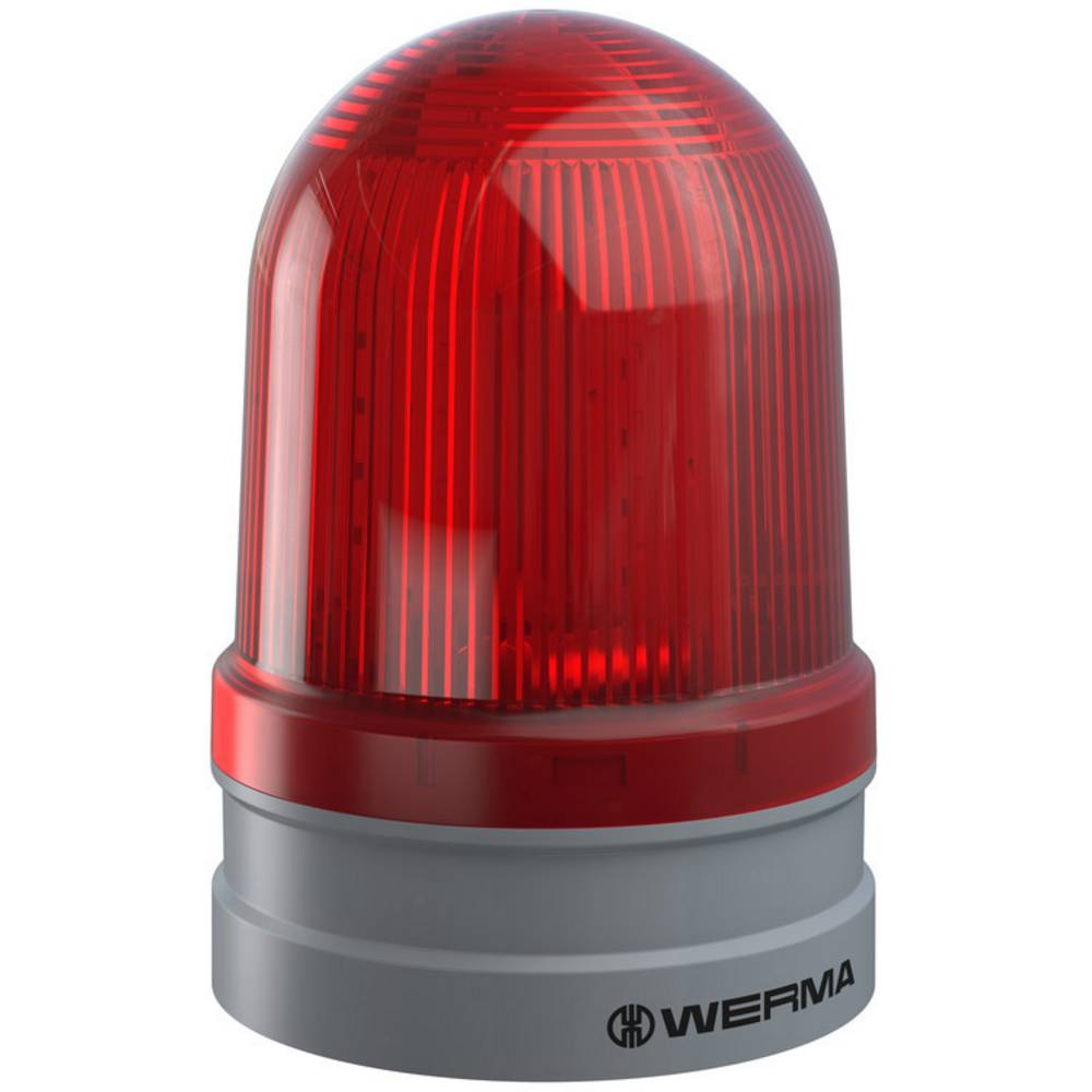 Werma Signaltechnik signalna svjetiljka Maxi TwinFLASH 115-230VAC RD crvena 230 V/AC