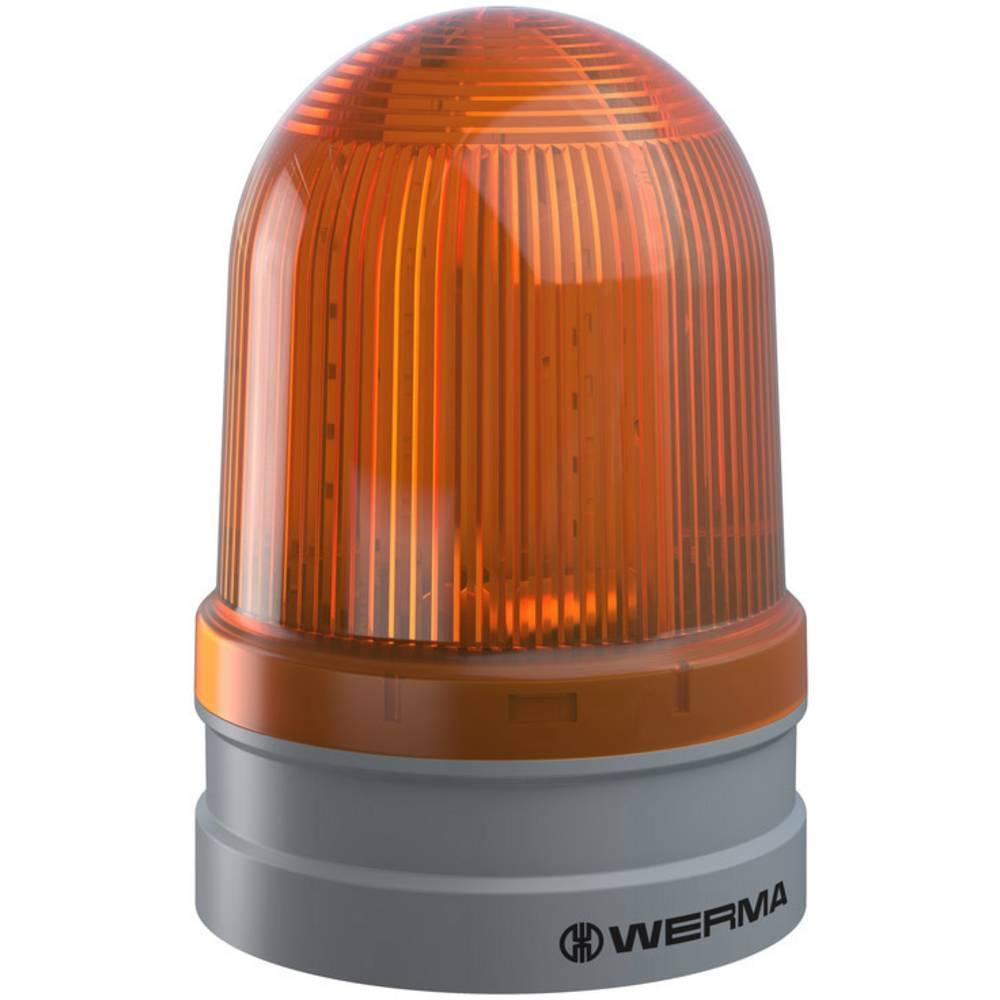 Werma Signaltechnik signalna svjetiljka Maxi TwinFLASH 12/24VAC/DC YE žuta 24 V/DC