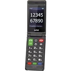 Switel M228 senior preklopni telefon črna