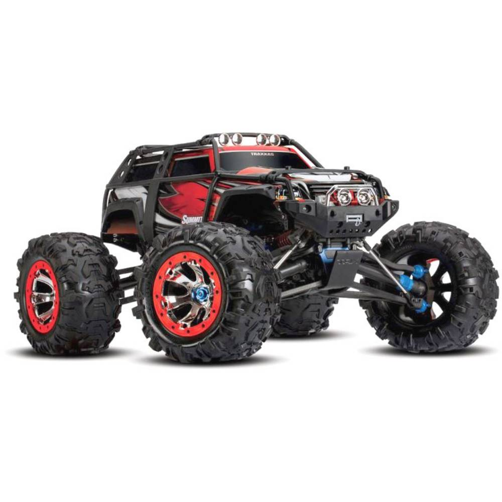 Traxxas Summit s ščetkami RC Modeli avtomobilov Elektro Monster Truck Pogon na vsa kolesa (4WD) RtR 2,4 GHz