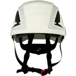 Zaštitna kaciga S UV senzorom, reflektirajuća, ventilirana Bijela 3M X5001V-CE EN 397, EN 12492