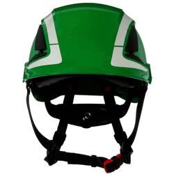 Zaštitna kaciga S UV senzorom, reflektirajuća, ventilirana Zelena 3M X5004V-CE EN 397, EN 12492