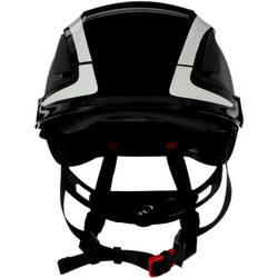 Zaštitna kaciga S UV senzorom, reflektirajuća, ventilirana Crna 3M X5012V-CE EN 397, EN 12492
