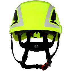 Zaštitna kaciga S UV senzorom, reflektirajuća, ventilirana Neonsko-zelena 3M X5014V-CE EN 397, EN 12492