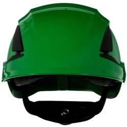 Zaštitna kaciga ventilirana, S UV senzorom Zelena 3M SecureFit X5504V-CE-4 EN 397